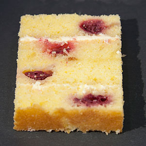 Lemon And Raspberry Sponge