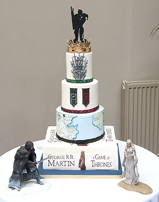 Game Of Thrones Wedding Cake (Price code C)