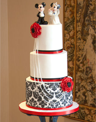 Disney Wedding Cake (Price code B)