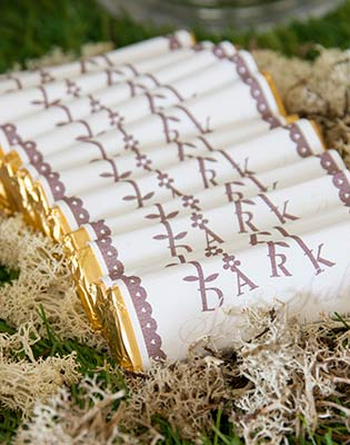 Personalised Chocolate Bar Wedding Favours